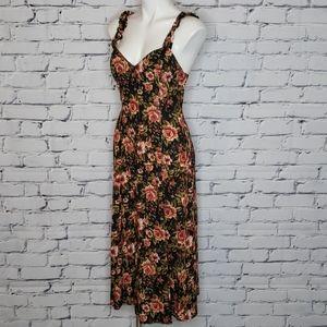 Vintage 90s floral grunge dress